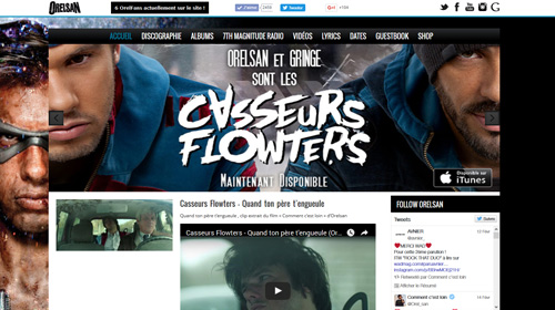 Site Internet Orelsan